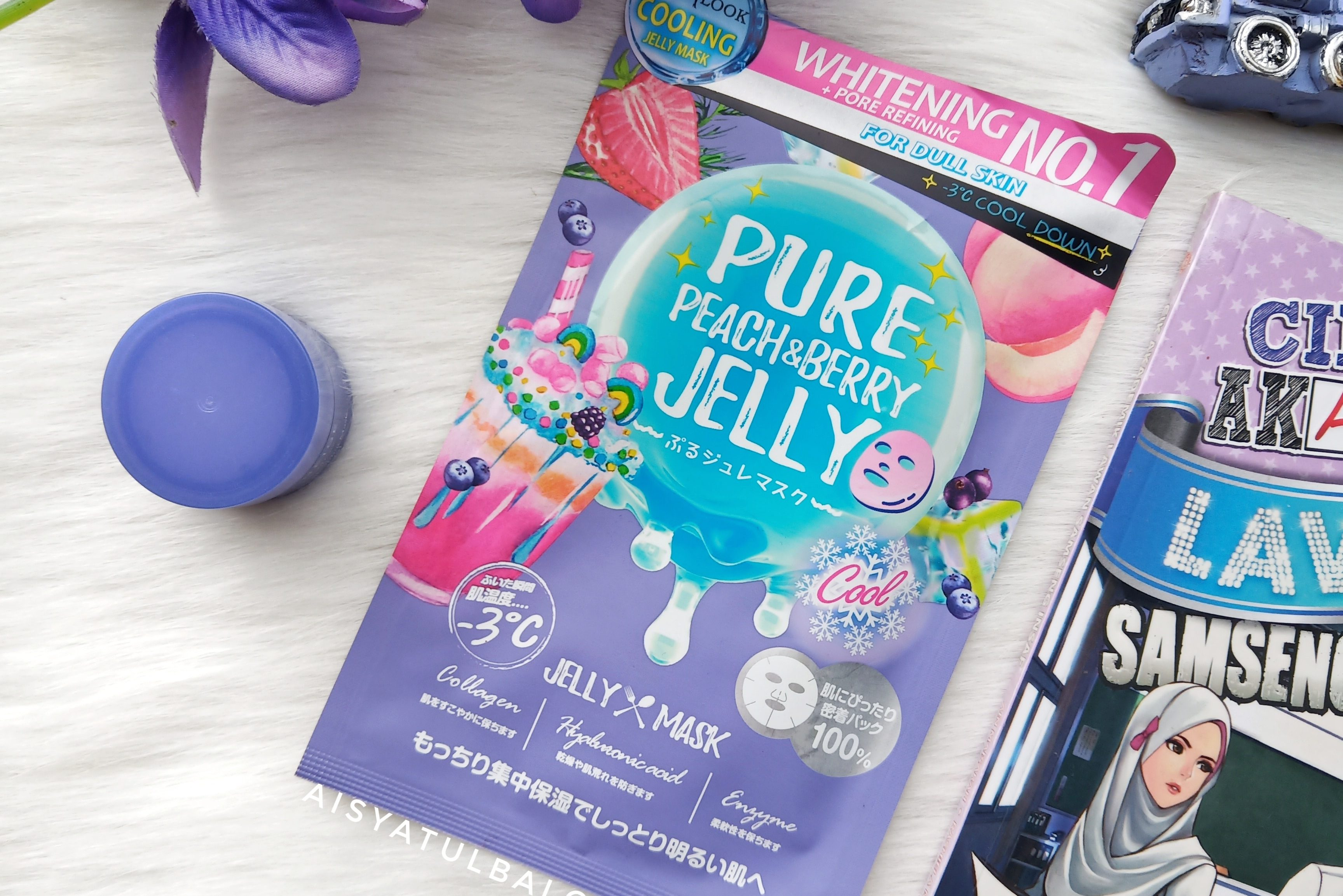 REVIEW l Sexylook Pure Peach & Berry Brightening Cool Jelly Mask