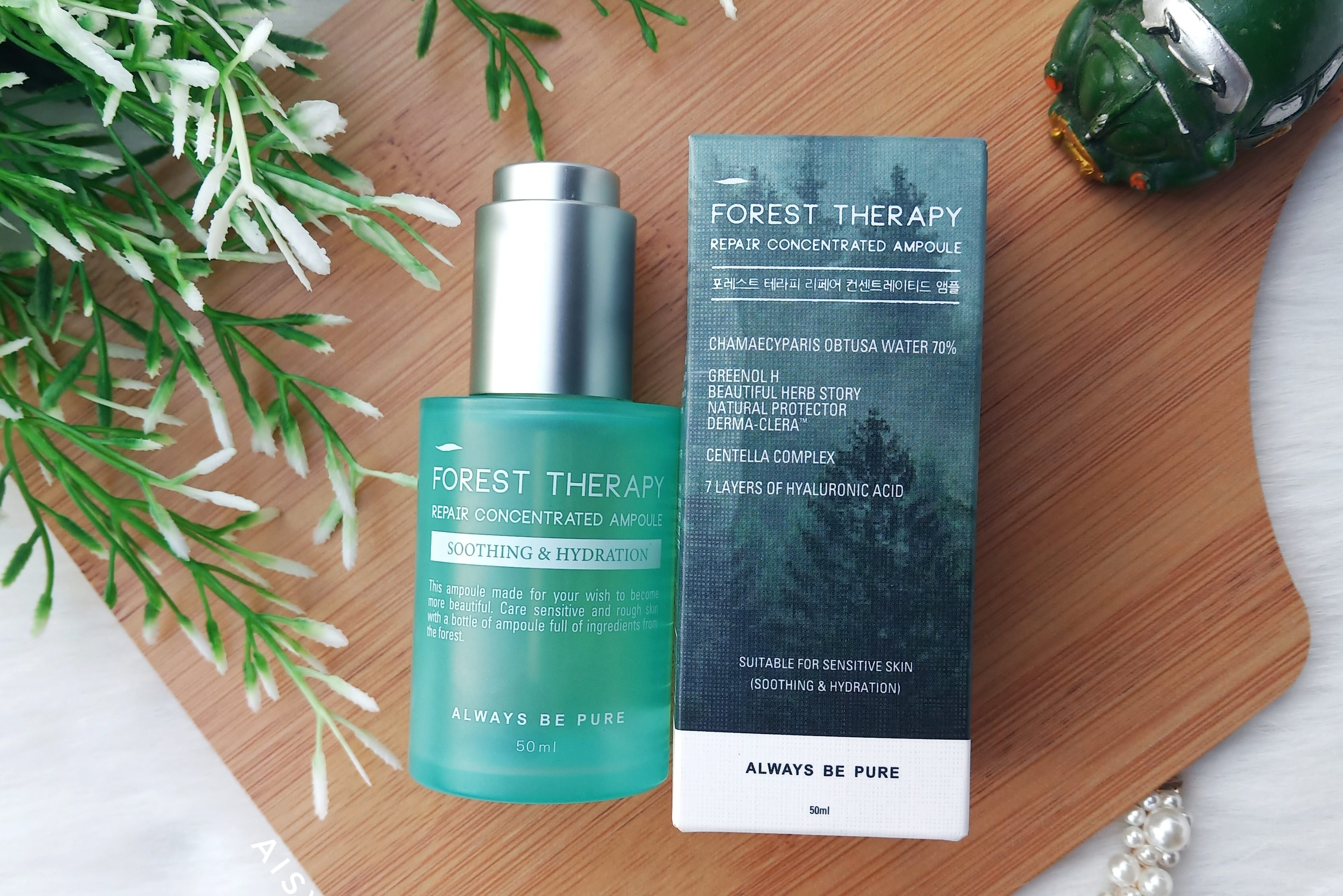 REVIEW l Always Be Pure Forest Therapy Repair Concentrated Ampoule