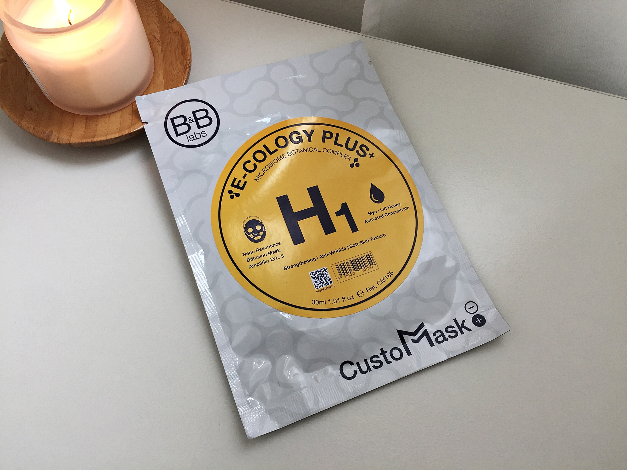 REVIEW | B&B Labs CustoMask #H1 Nano Resonance + Myo:Lift Honey
