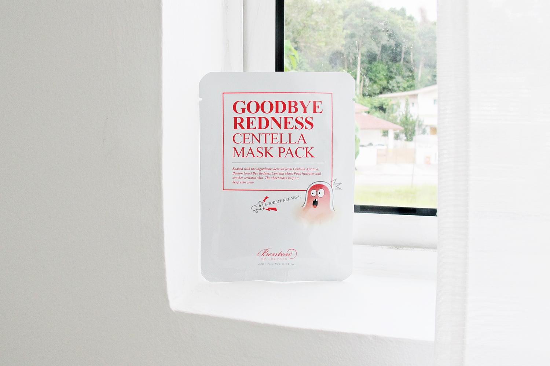 REVIEW | Benton Goodbye Redness Centella Mask Pack