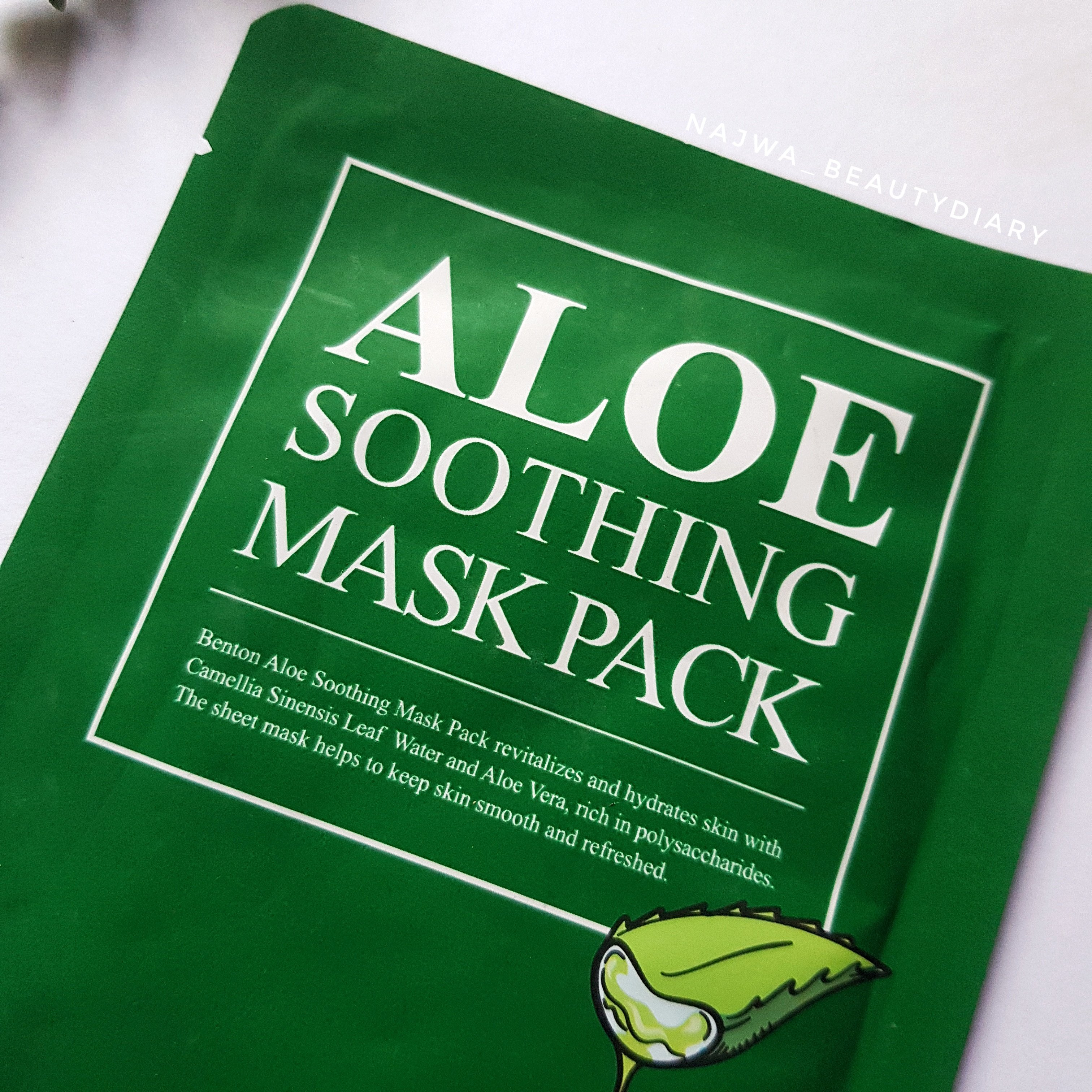 REVIEW l BENTON Aloe Soothing Mask
