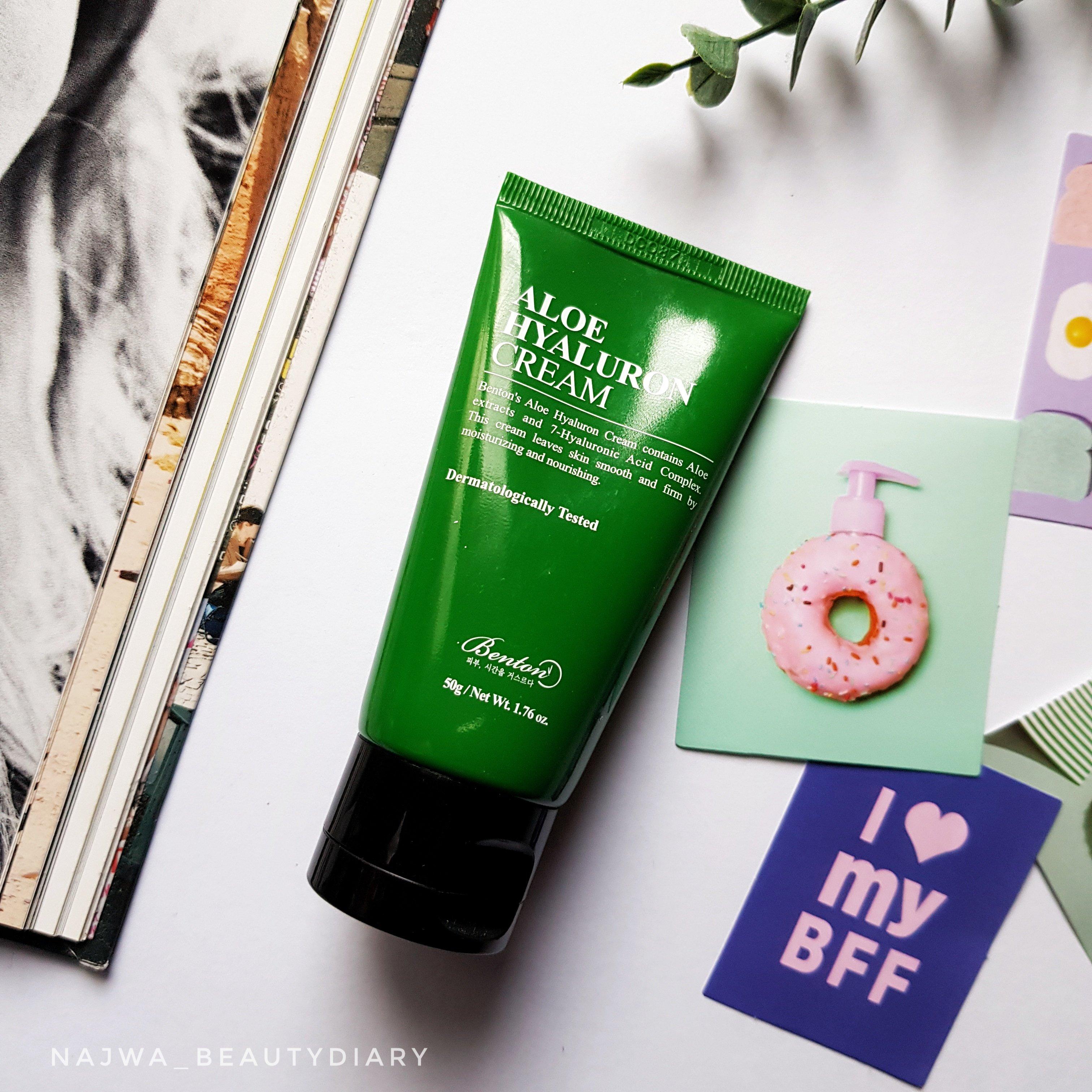 REVIEW | Benton Aloe Hyaluron Cream