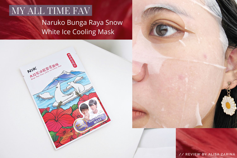 REVIEW | All Time Fav: NRK Naruko Bunga Raya Snow White Ice Cooling Mask