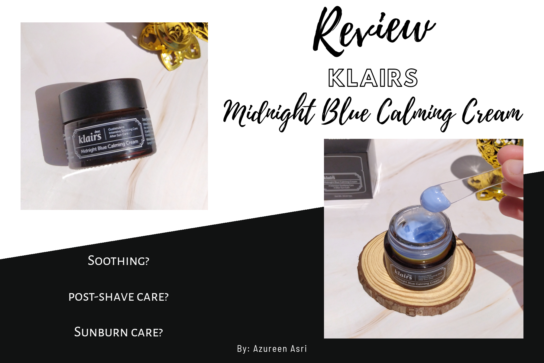 Soothe Skin with Klairs Midnight Blue Calming Cream