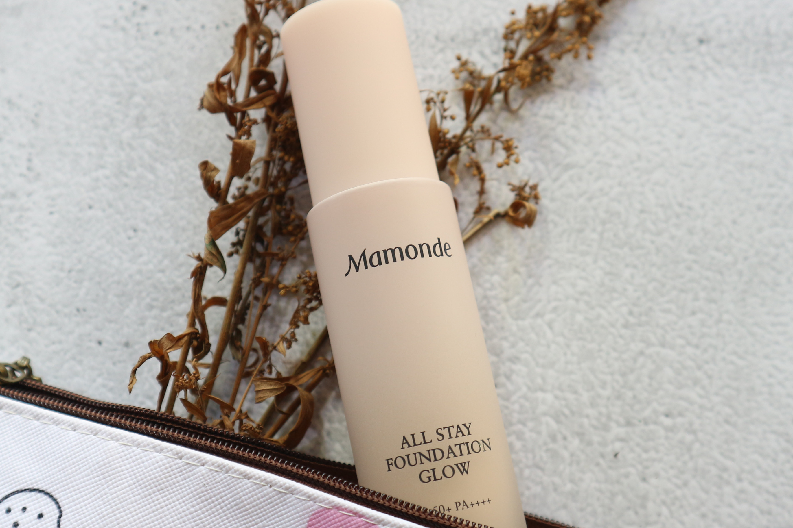 REVIEW | Mamonde All Stay Foundation Glow SPF50+PA++++