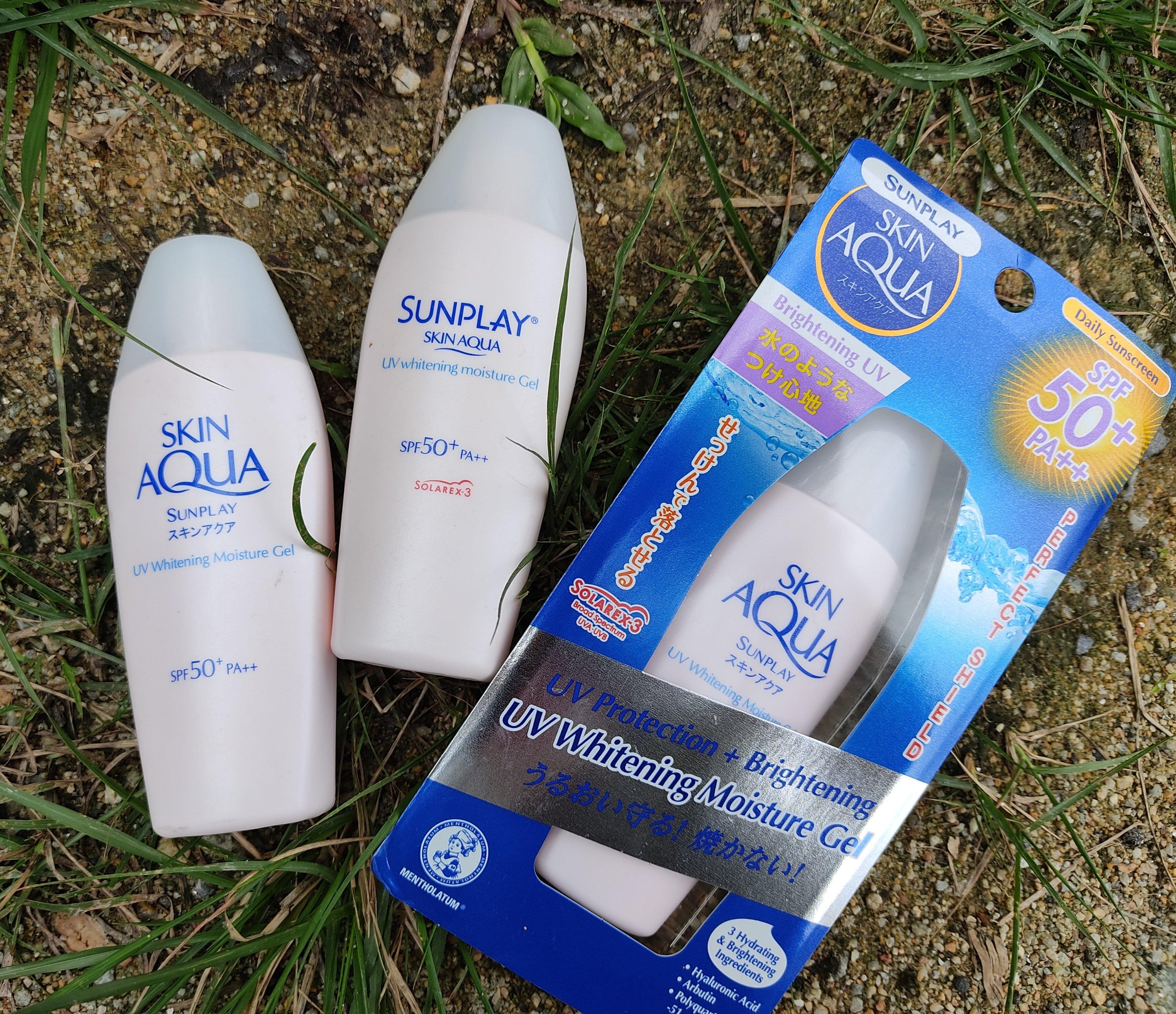 REVIEW | Sunplay Skin Aqua UV Whitening Moisture Gel