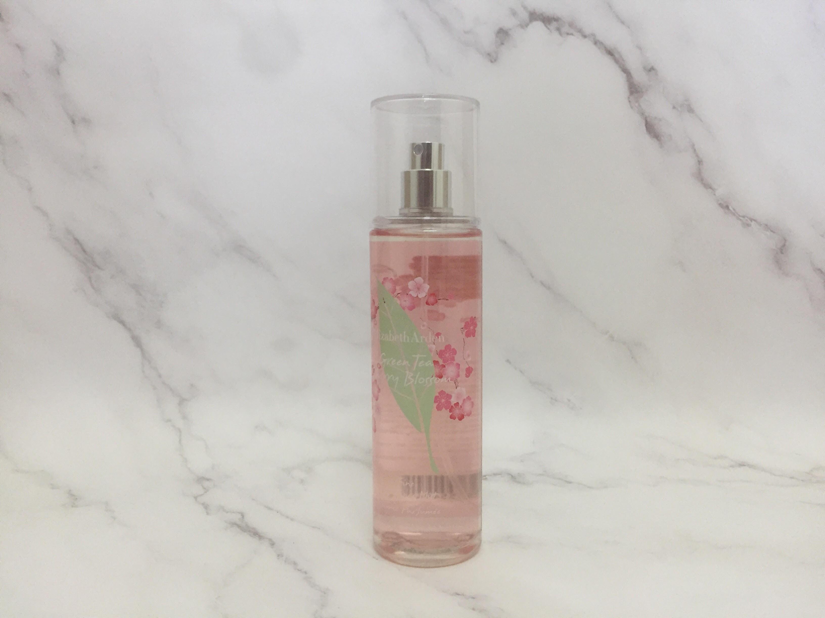 REVIEW   Elizabeth Arden Green Tea Cherry Blossom Fine Fragrance Mist