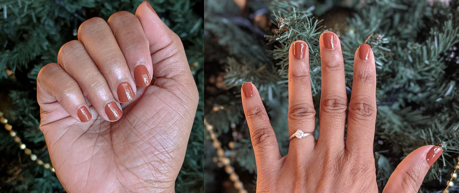 REVIEW | 3CE Mood Recipe Long Lasting Nail Lacquer (BR05 Warm Red Brown)