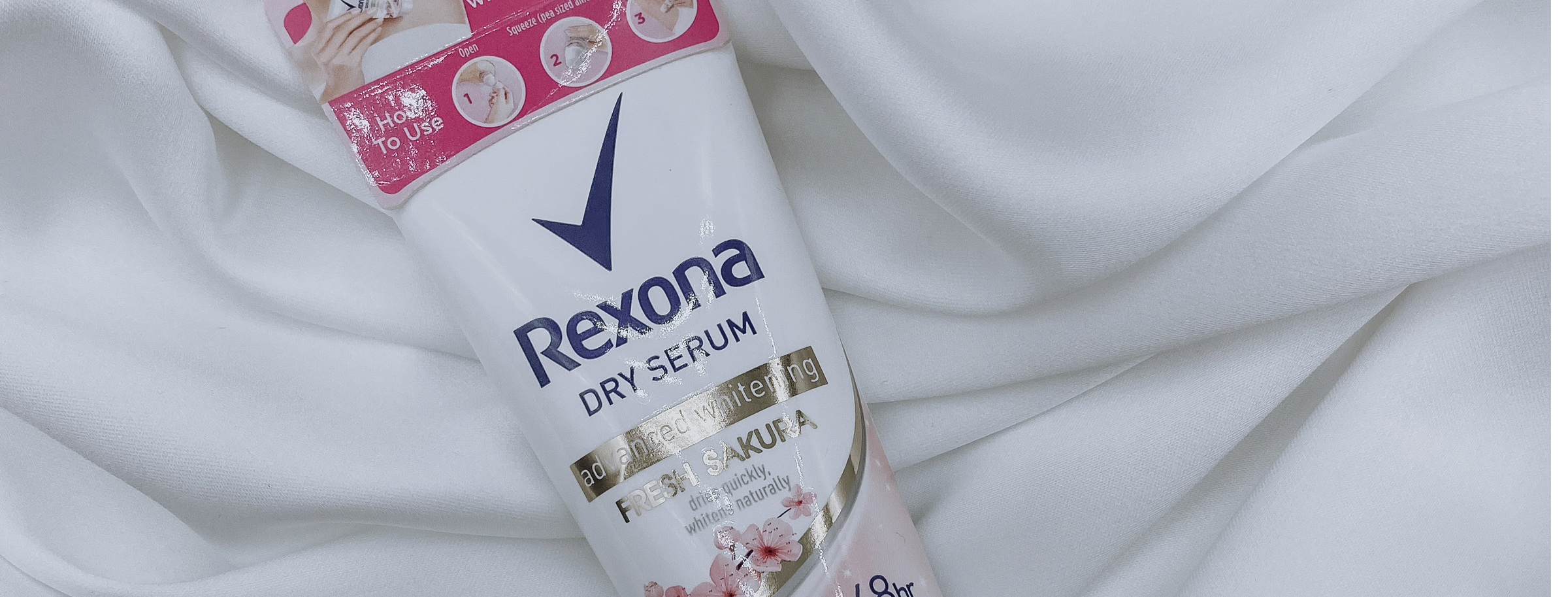 REVIEW | Rexona Women Advanced Whitening Fresh Sakura Dry Serum