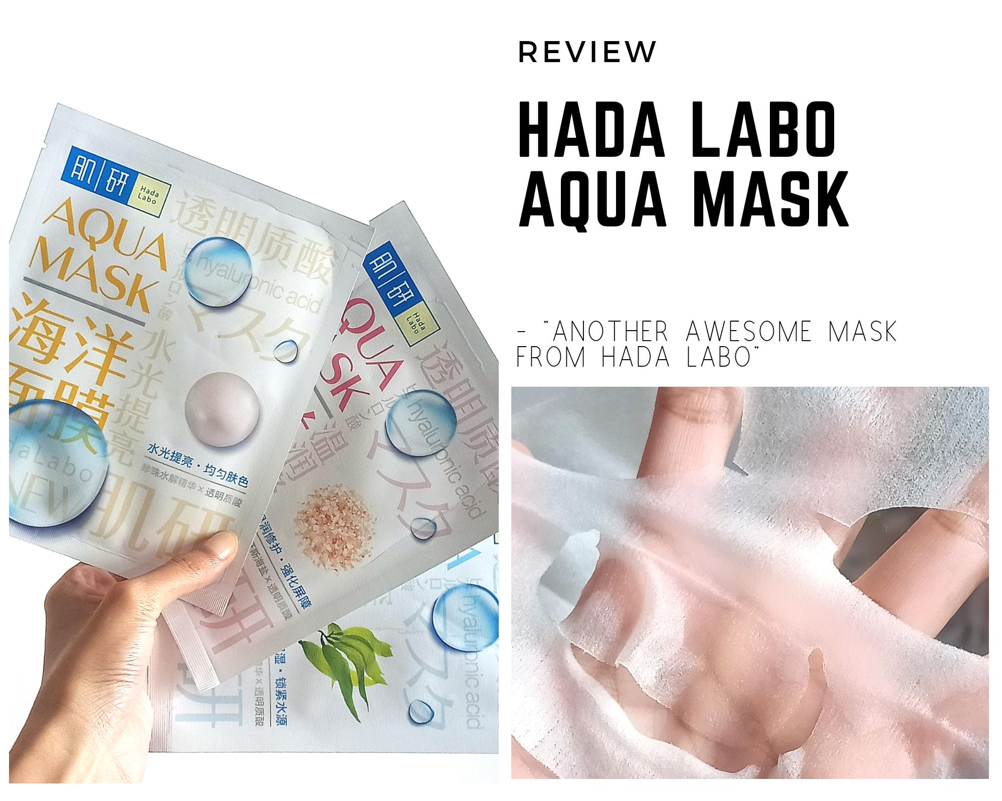 REVIEW | Hada Labo Aqua Mask