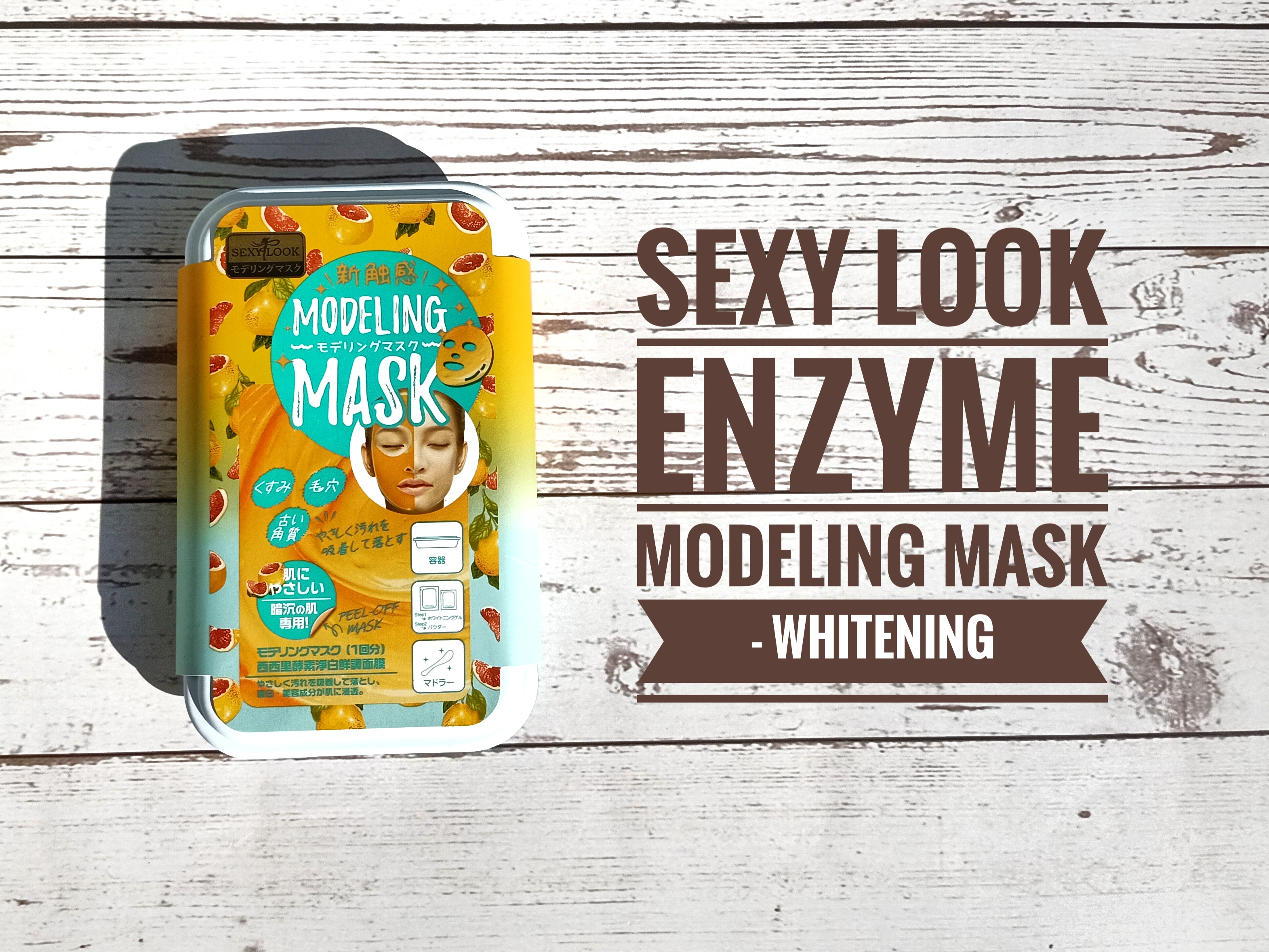 REVIEW | SexyLook Enzyme Modeling Mask #Whitening