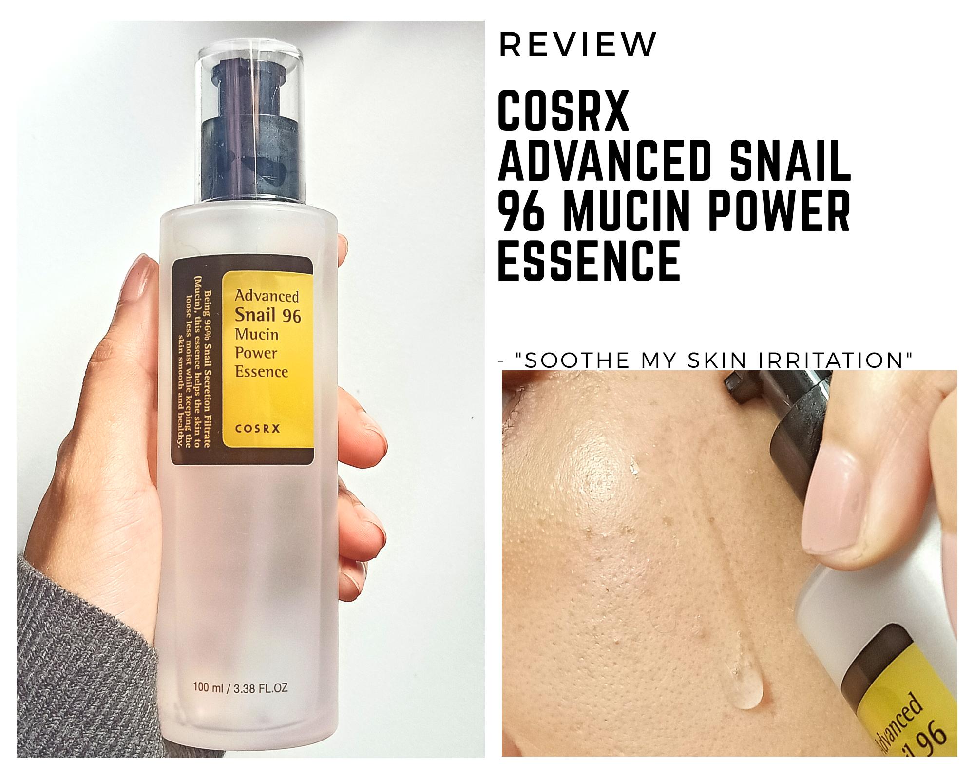 REVIEW | Cosrx Advanced Snail 96 Mucin Power Essence