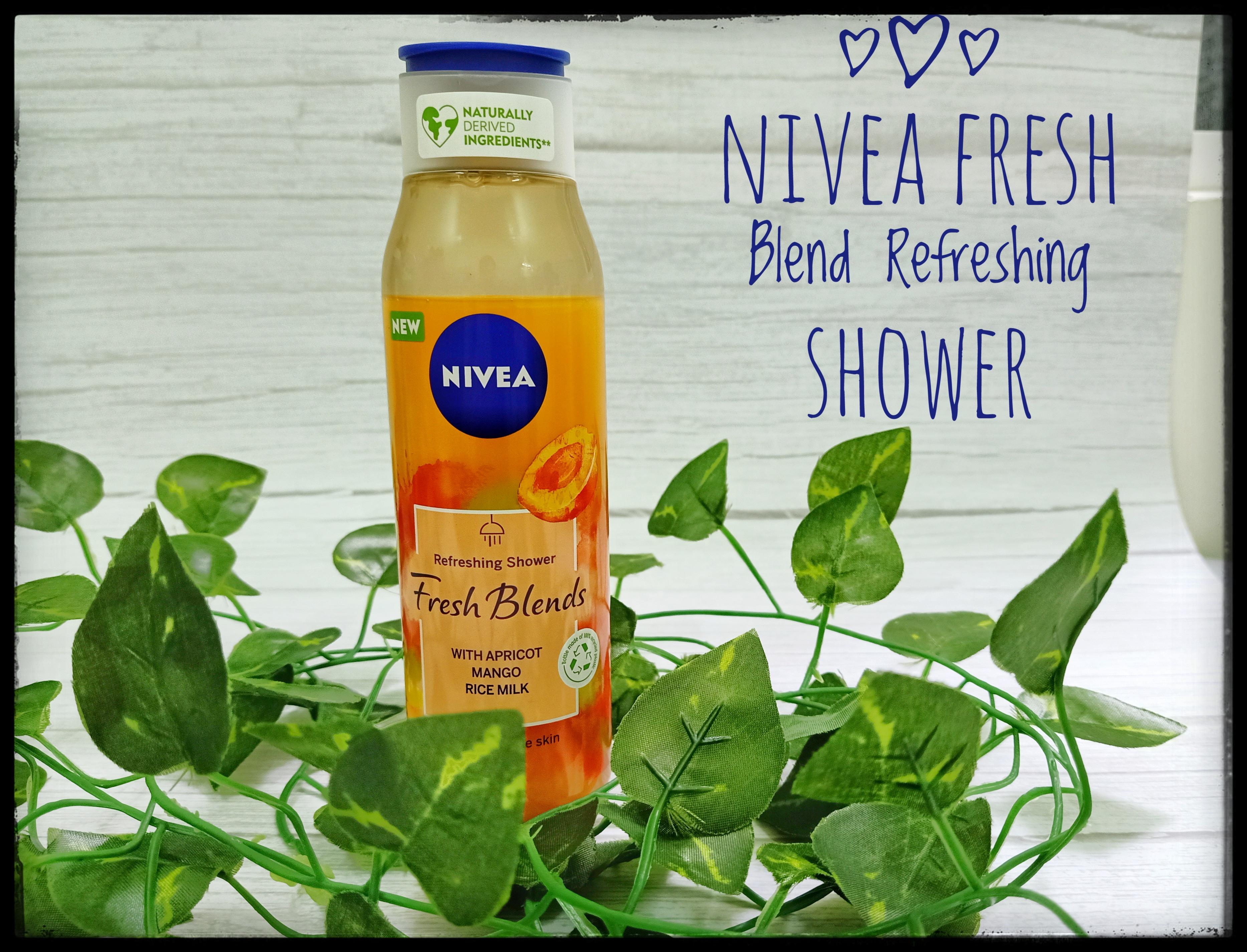 REVIEW | Nivea Fresh Blend Refreshing Shower Cream – Apricot