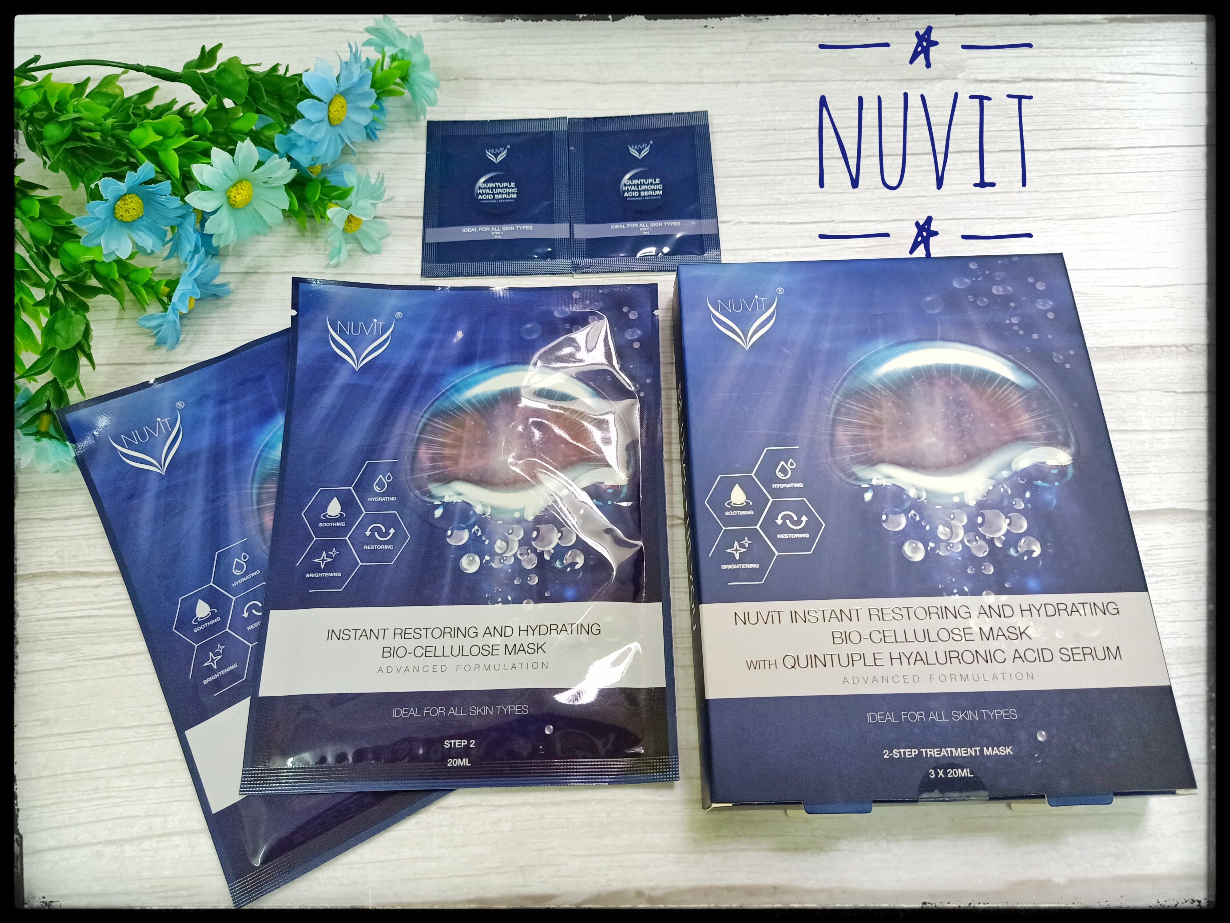 Tried Bio Cellulose Mask From Nuvit? Nuvit Instant Restoring & Hydrating Bio-Cellulose
