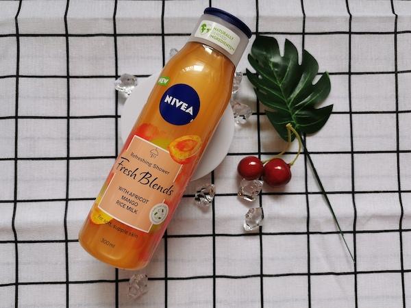REVIEW | Nivea Fresh Blend Refreshing Shower #Apricot Mango