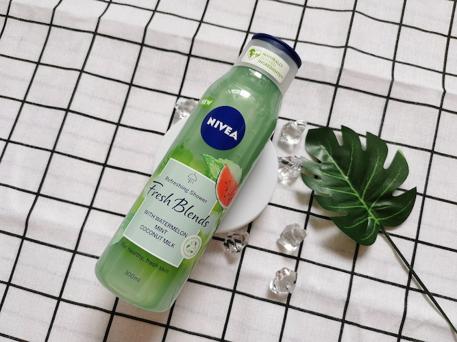 REVIEW | Nivea Fresh Blend Refreshing Shower #Watermelon Mint