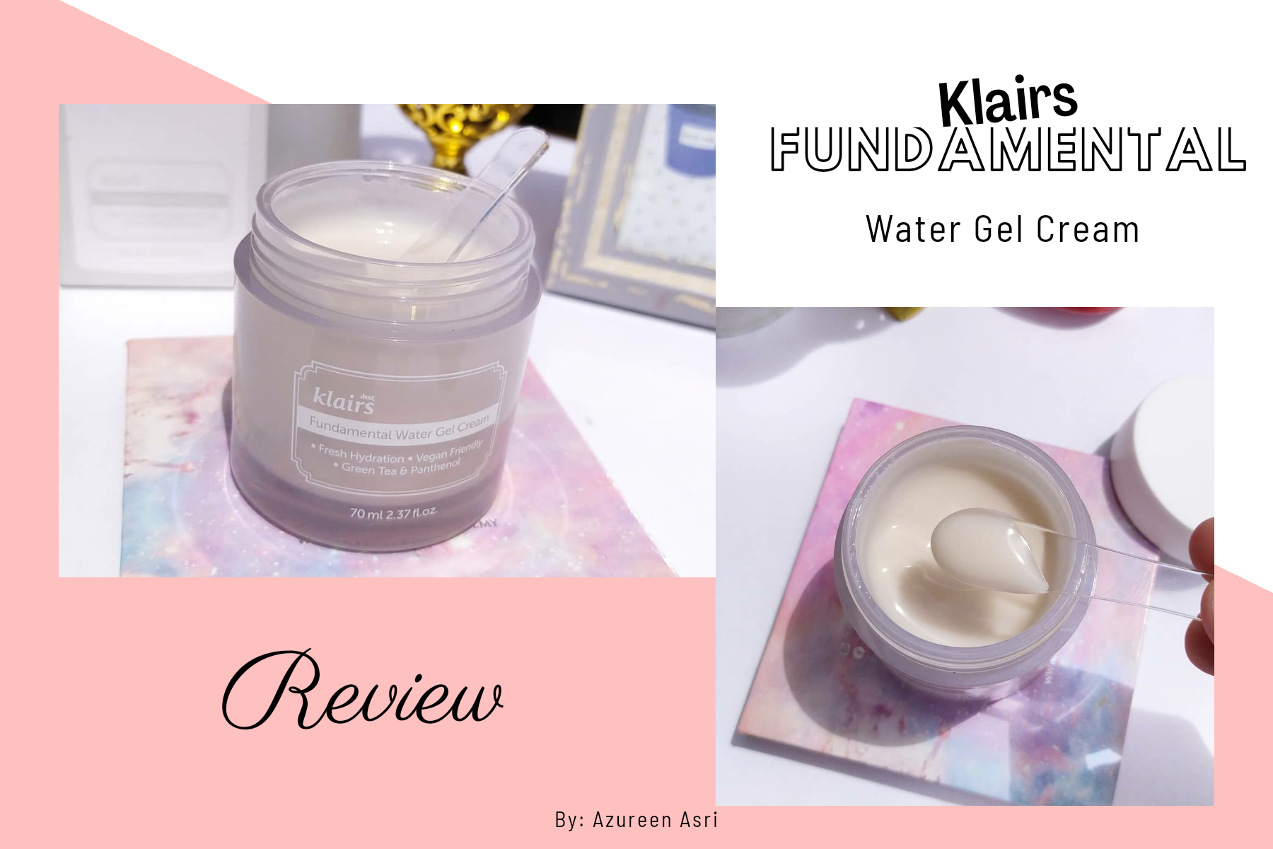 Smooth and Soft, Hydrated Skin with Klairs Fundamental Water Gel Cream