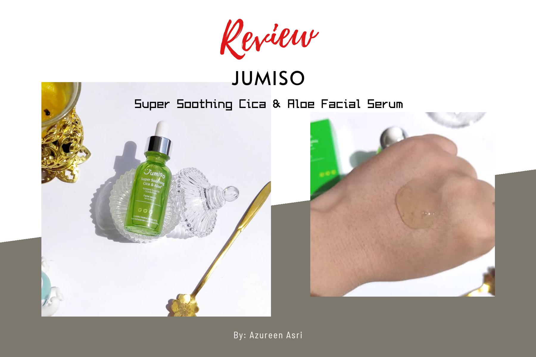 REVIEW | Jumiso Super Soothing Cica & Aloe Facial Serum