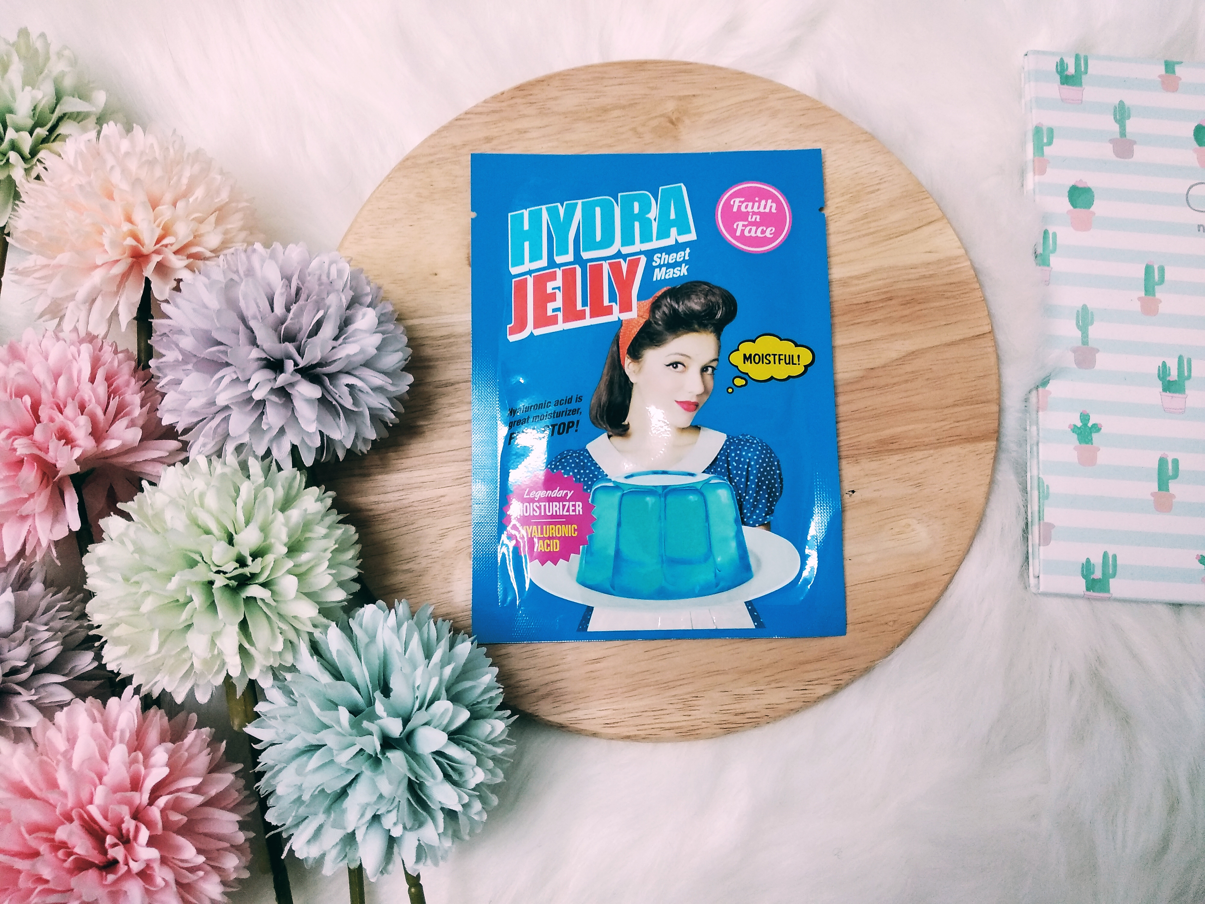 REVIEW   Faith In Face Hydra Jelly Sheet Mask