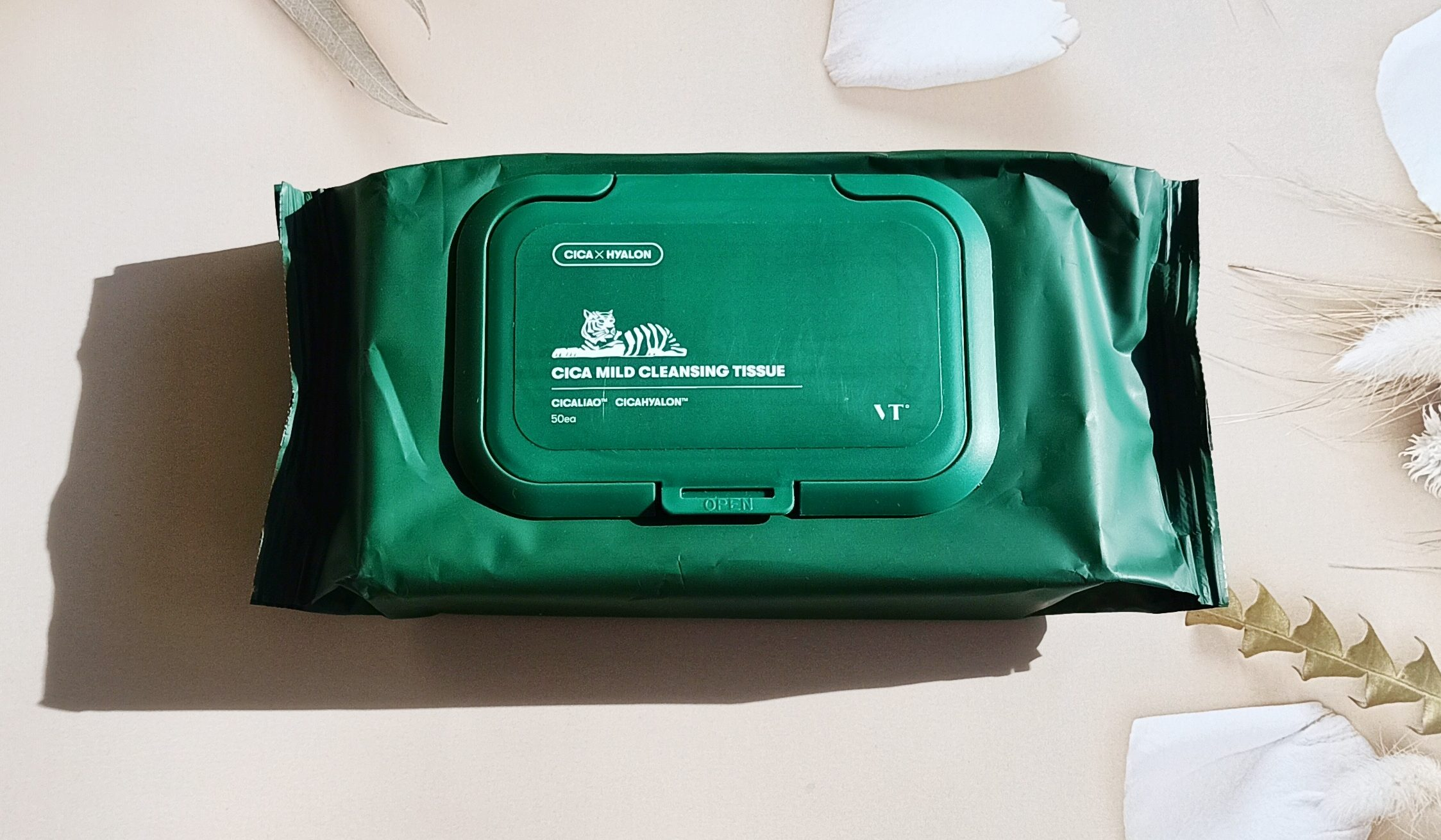 REVIEW | VT Cica Mild Cleansing Tissue