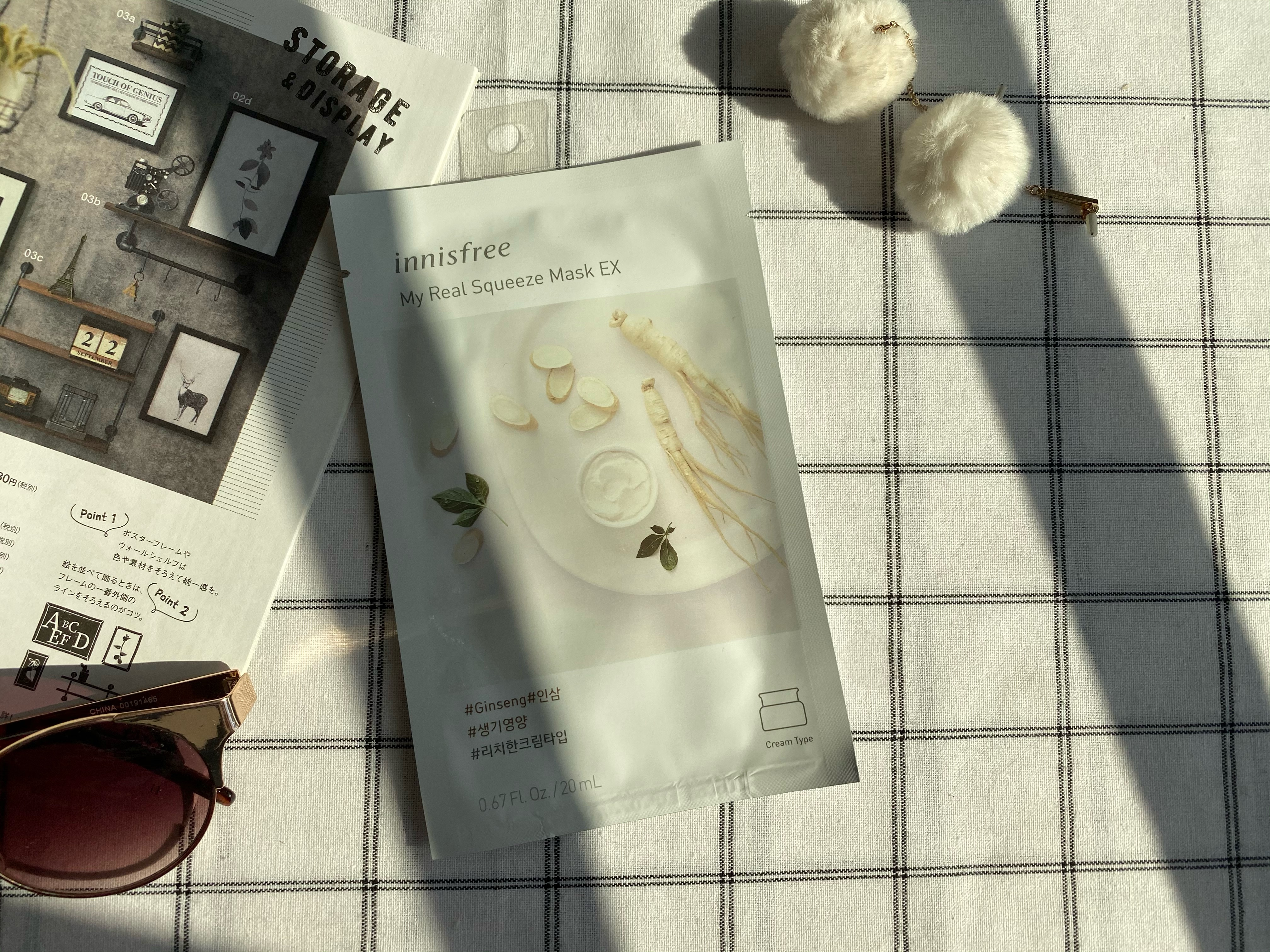 REVIEW | Innisfree My Real Squeeze Mask #Ginseng