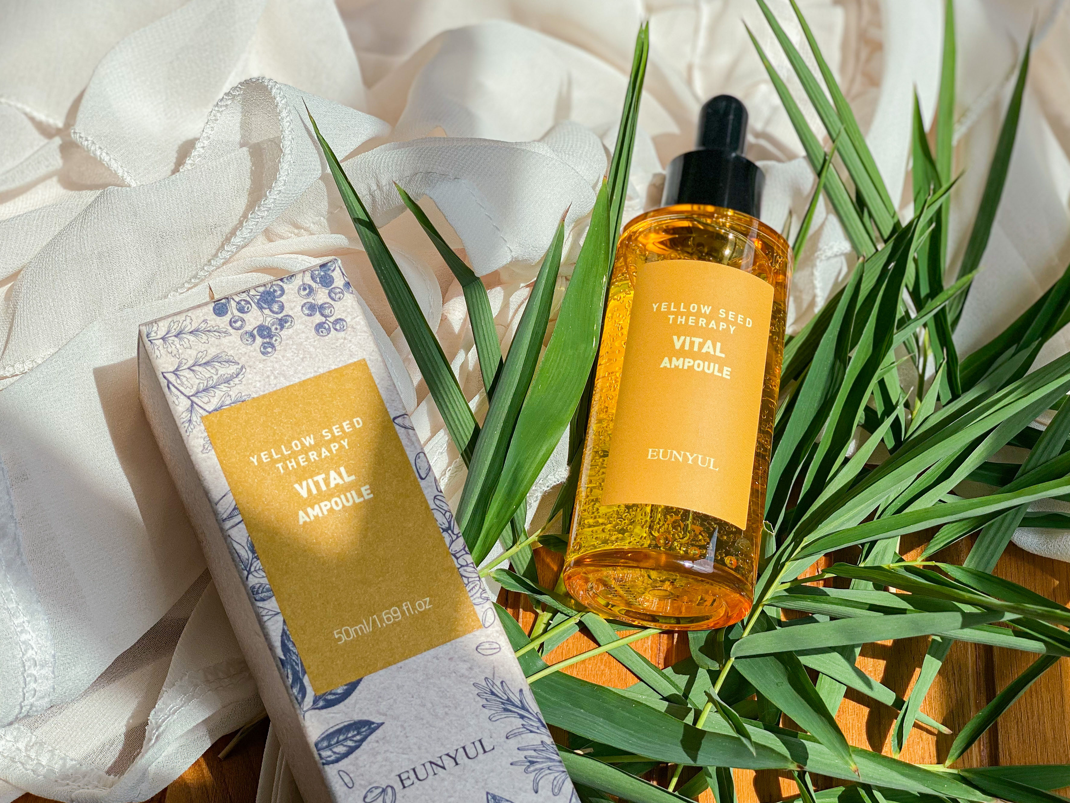 REVIEW | Eunyul Yellow Seed Therapy Vital Ampoule