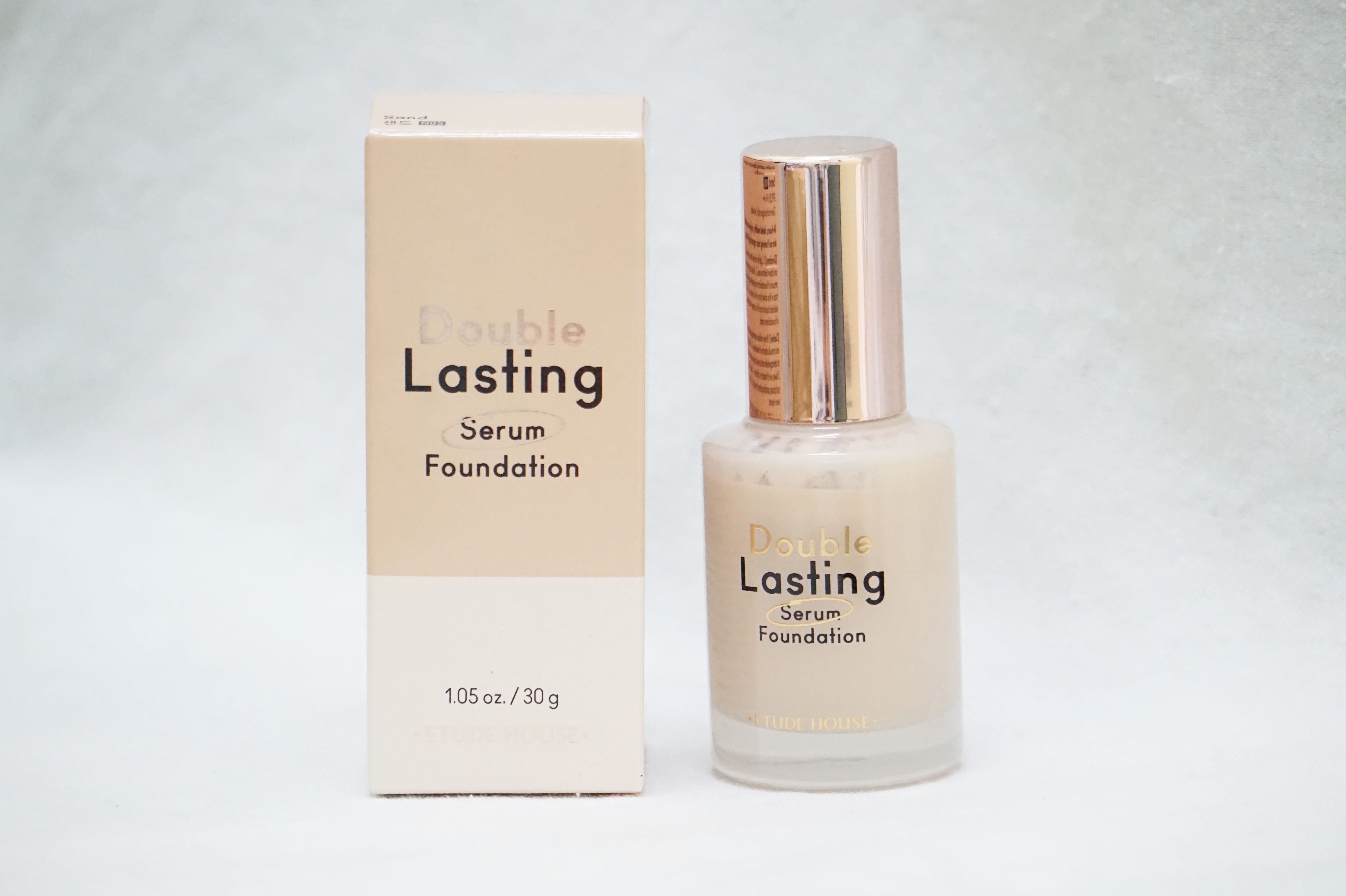 REVIEW | Etude House Double Lasting Serum Foundation