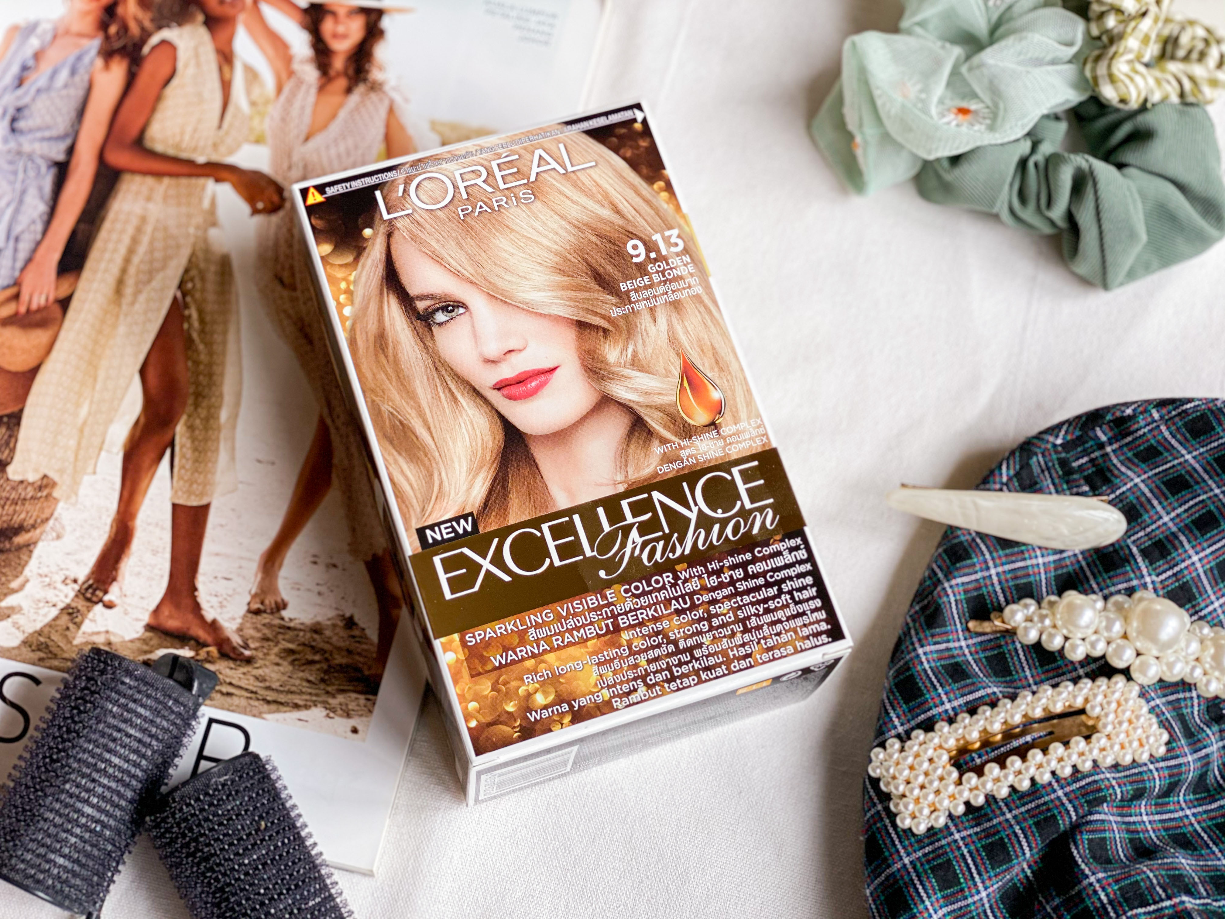 Box Dye Blonde? Featuring L'Oreal's Excellence Fashion Hair Colour