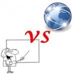 Online training vs classroom training