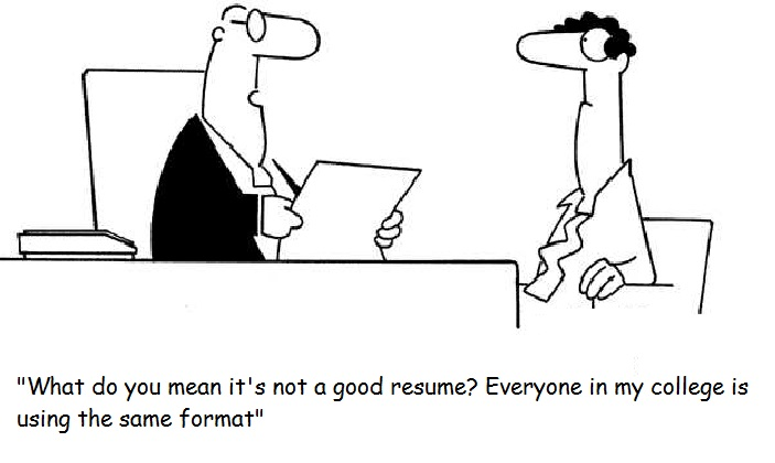 resume blunder - Resume I Hereby Declare