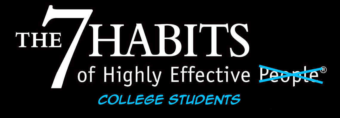7 habits of academically and otherwise Home / articles / lifestyle choices: 7 habits of highly effective freelancers here we explore the seven habits of highly effective freelancers: otherwise, you.