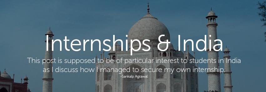 Internships in India