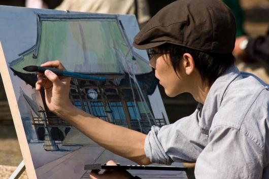 artist-at-work