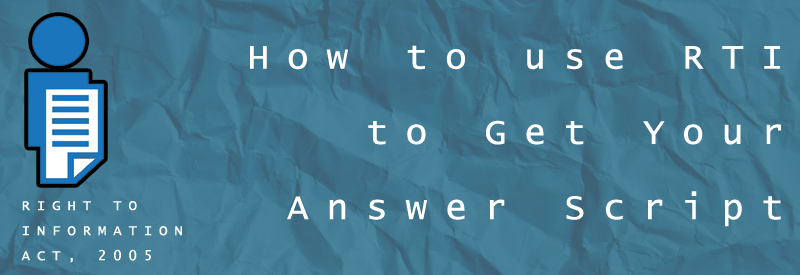How to use RTI to get your answer script