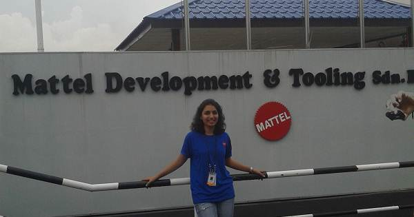 Summer Internship At Mattel Malaysia Karishma Seth From