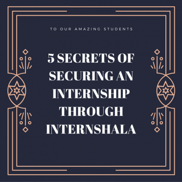 The five secrets of securing an internship through Internshala