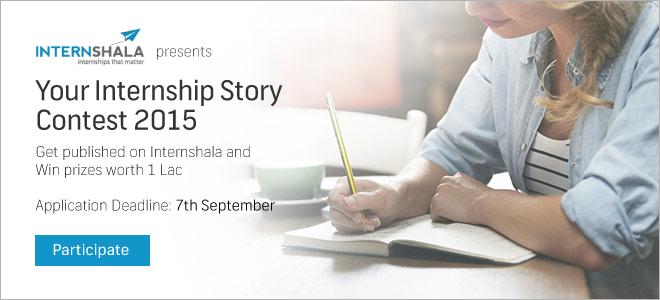 Your Internship Story 2015