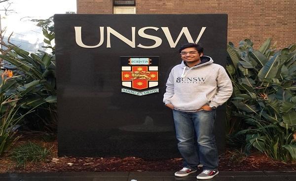 Internship at University of New South Wales