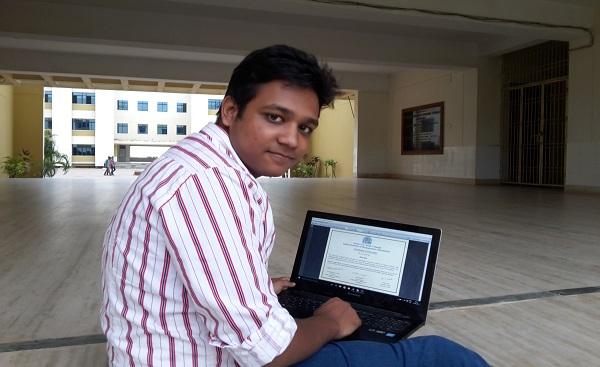 Internship at IIM Ahmedabad