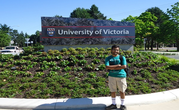 Internship at University of Victoria