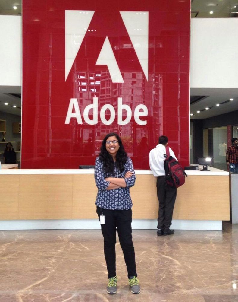 Internship at Adobe - Nikita from IIIT, Delhi