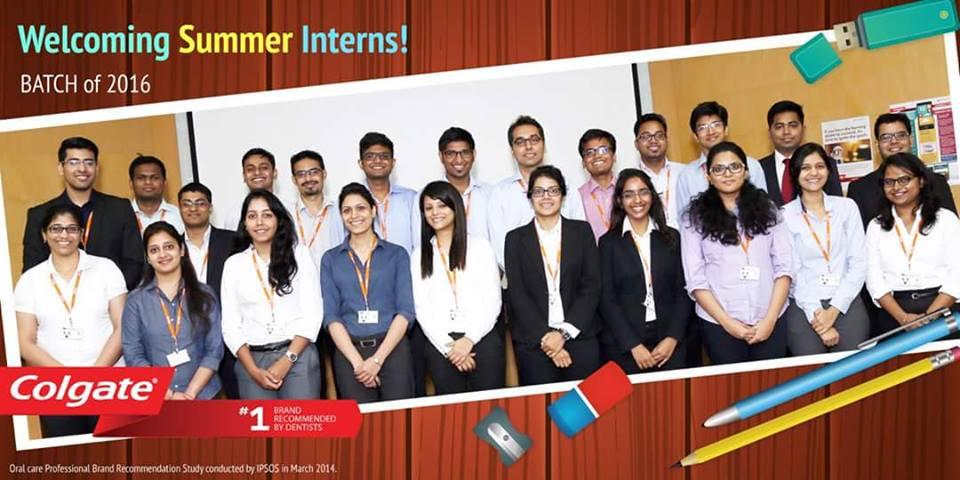 internship-at-colgate-palmolive-ayush-from-iim-lucknow