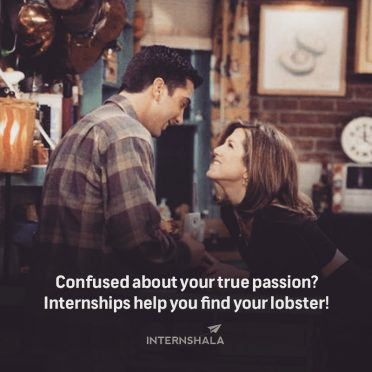 The one where F.R.I.E.N.D.S taught you internship lessons 9