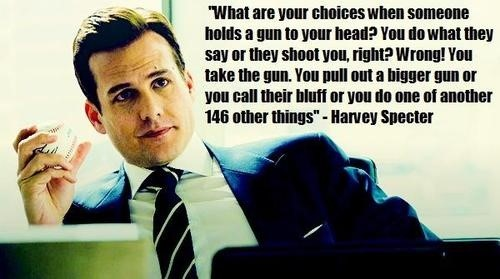 13 badass Harvey Specter quotes from Suits that every student can use in daily life -6