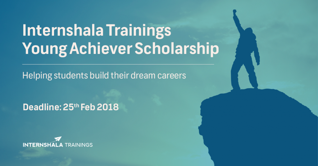 Internshala-Trainings-Young-Achiever-Scholarship-2018