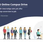 India's Largest Online Campus Drive