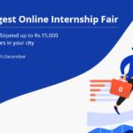 India's Largest Online Internship Fair