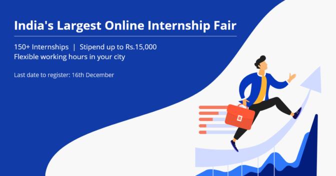 Indias-Largest-Online-Internship-Fair