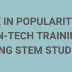 Rise in popularity of non-tech trainings among STEM students