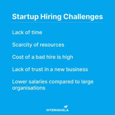 Common startup hiring challenges